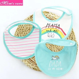 Set 3 yếm mom care cho bé